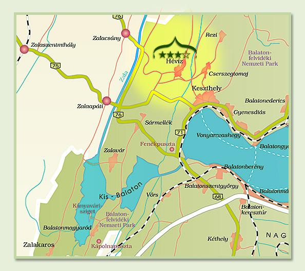 balatonederics térkép Amira Boutique Hotel Wellness & Spa **** Hévíz balatonederics térkép